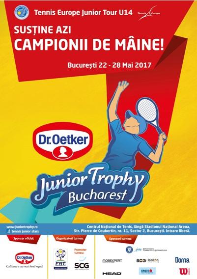 Poster Junior Trophy 480x680 mm